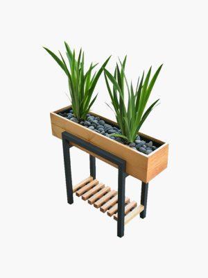 گلدان چوبی مدرن مدل گلدان چوبی مدرن مدل BH-FB2