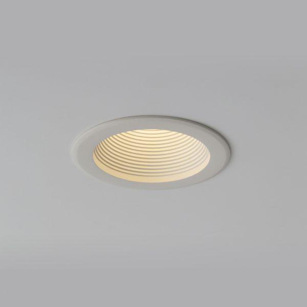 چراغ تو کار سقفی مدل سیبرون Sibron C Mini در حالت روشن شماره 2