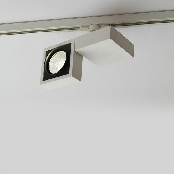 چراغ سقفی ریلی مدرن مدل Vera Twin دارای قابلیت چرخش